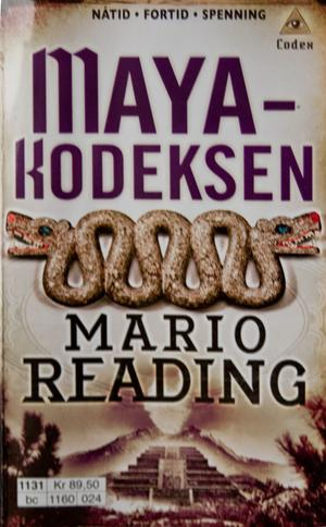 """Mayakodeksen"" av Mario Reading"
