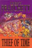 """Thief of time a Discworld novel"" av Terry Pratchett"