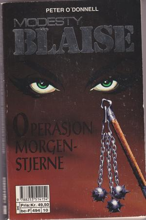 &#34;Modesty Blaise - Operasjon morgenstjerne - The Night of the Morningstar&#34; av Peter O&#39;Donnell