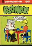 """Serie-pocket 96 Blondie eddie falt ned i..."" av Chic Young"