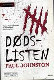 """Dødslisten"" av Paul Johnston"