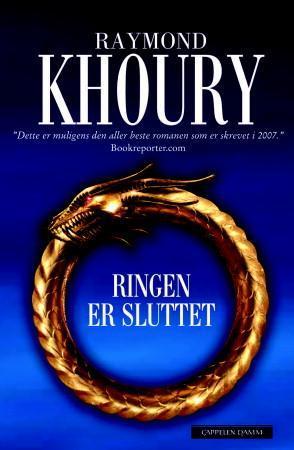 """""""Ringen er sluttet"""" av Raymond Khoury"""