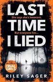 """""""Last Time I Lied"""" av Riley Sager"""