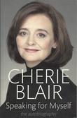 """""""Speaking for myself the autobiography"""" av Cherie Blair"""