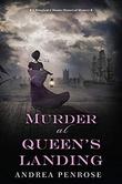 """""""Murder at Queen's Landing Wrexford & Sloan Mysteries book 4"""" av Andrea Penrose"""