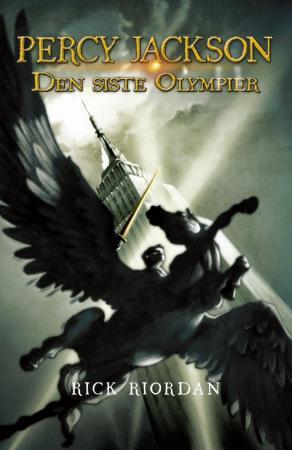 """""""Percy Jackson - den siste olympier"""" av Rick Riordan"""
