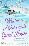 """Winter at West Sands Guest House"" av Maggie Conway"