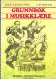 """""""Grunnbok i musikklære"""" av Nils E. Bjerkestrand"""