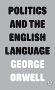 """Politics and the English Language"" av George Orwell"