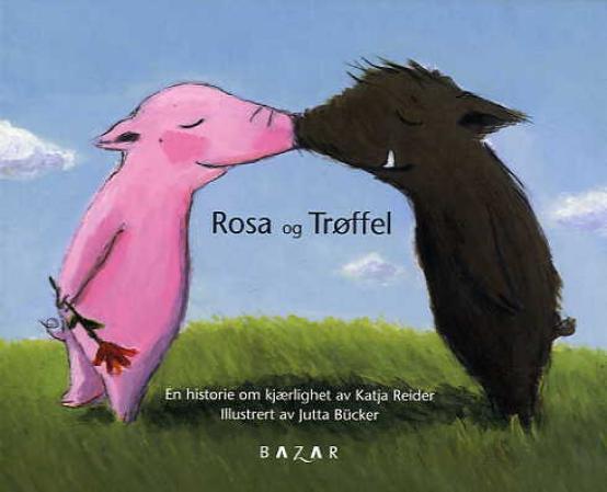 """""""Rosa og Trøffel"""" av Katja Reider"""