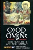 """Good omens the nice and accurate prophecies of Agnes Nutter, witch"" av Terry Pratchett"