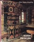 """Norsk treskurd Norsk kulturarv 9"" av Ellen Marie Magerøy"