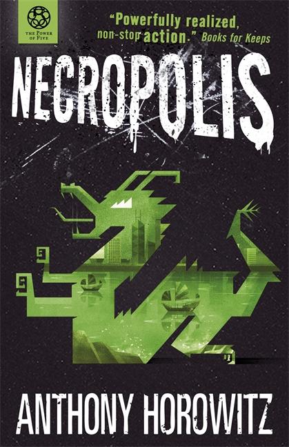 """""""The Power of Five - Necropolis (Power of Five)"""" av Anthony Horowitz"""