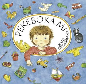 """Pekeboka mi"" av Kari Grossmann"