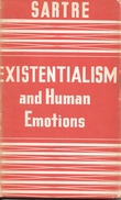 """""""Existentialism and human emotions"""" av Jean-Paul Sartre"""