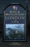 """""""London 2084 - en fortelling om fremtidige forbrytelser"""" av Jon Bing"""