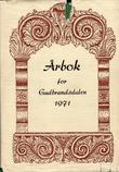 """""""Årbok for Gudbrandsdalen 1971"""" av Ole Arnfinn Torgersrud"""