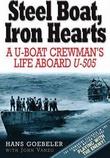 """""""Steel boat, iron hearts A u-boat crewmans life aboard u-505"""" av Hans Goebler"""